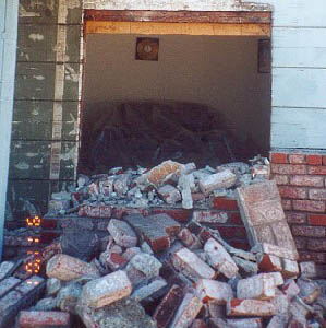 My house on September 11, 2001
